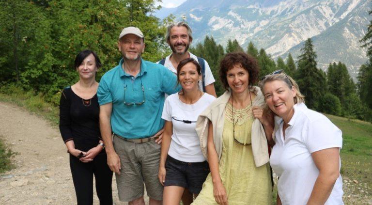 Les jeûneurs dans les Hautes-alpes - 18/08/2018