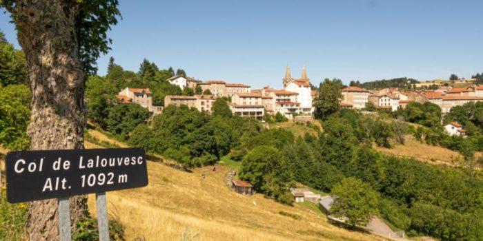 Vue du village de Lalouvesc